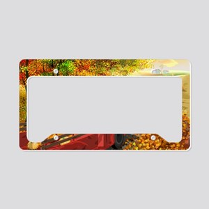 Colors of the season License Plate Holder