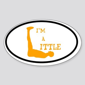 I'm a Little Tony Kornheiser Sticke Sticker (Oval)
