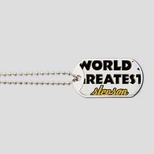 World's greatest StepSon Dog Tags