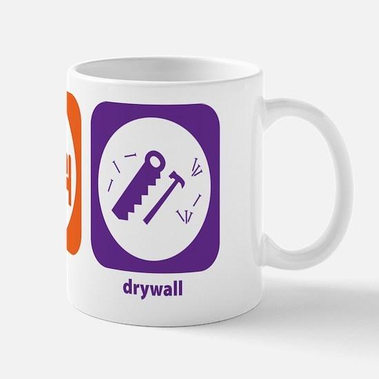 Eat Sleep Drywall Mug