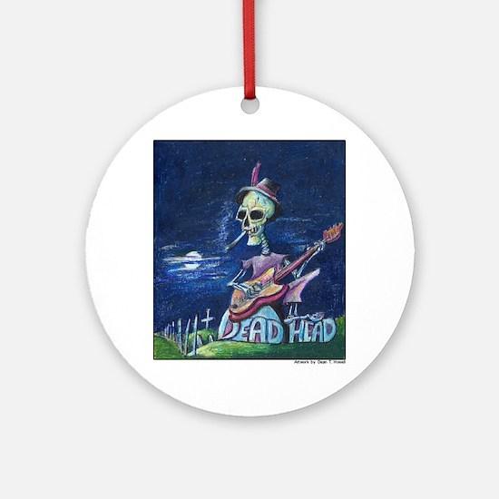 Dead Head Ornament (Round)