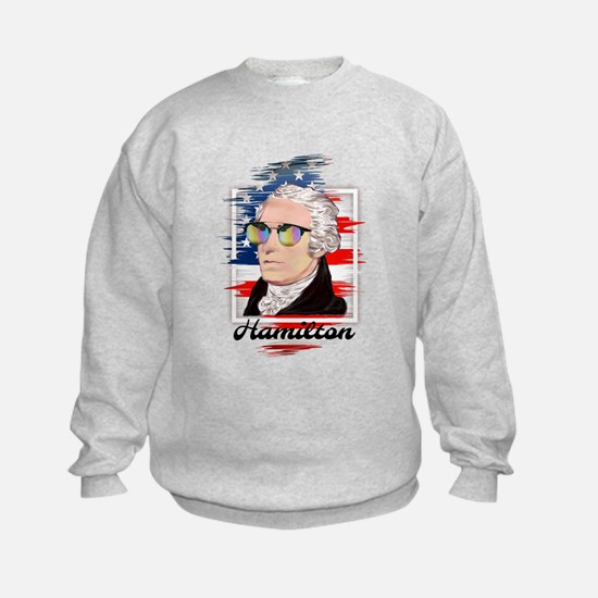 Alexander Hamilton in Color Sweatshirt
