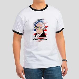 Alexander Hamilton in Color T-Shirt