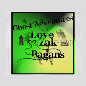 Ghost Adventures Throw Blanket