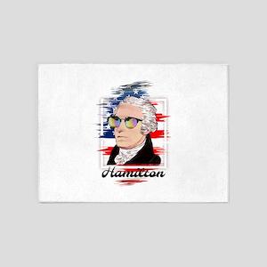 Alexander Hamilton in Color 5'x7'Area Rug