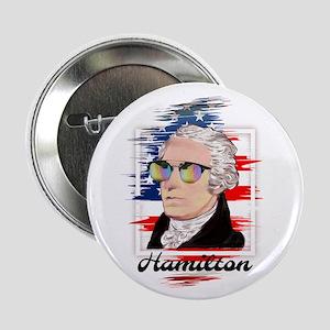 """Alexander Hamilton in Color 2.25"""" Button"""