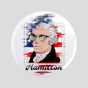 """Alexander Hamilton in Color 3.5"""" Button"""