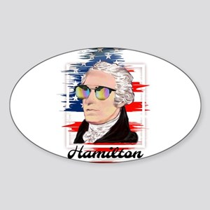 Alexander Hamilton in Color Sticker