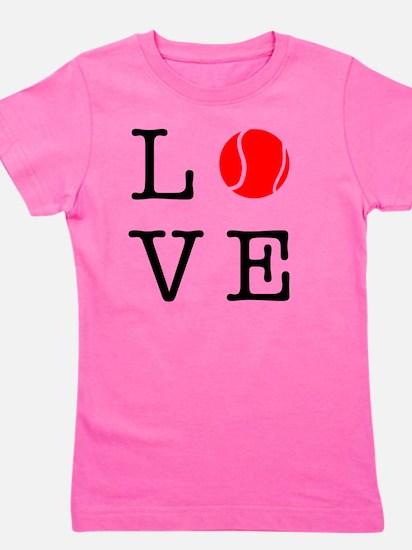 Love Tennis Girl's Tee