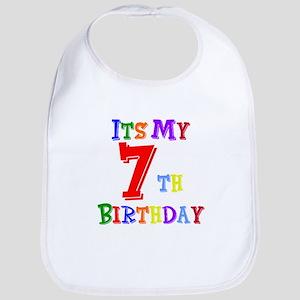7th Birthday Bib