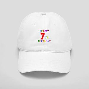 7th Birthday Cap