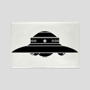 Nazi UFO - Haunebu II Rectangle Magnet