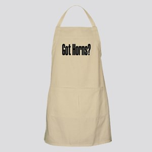 Got Horns Larger BBQ Apron