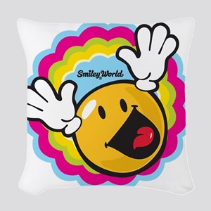 hi fry Woven Throw Pillow