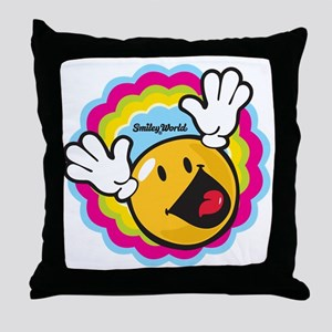 hi fry Throw Pillow