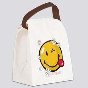 flower me Canvas Lunch Bag