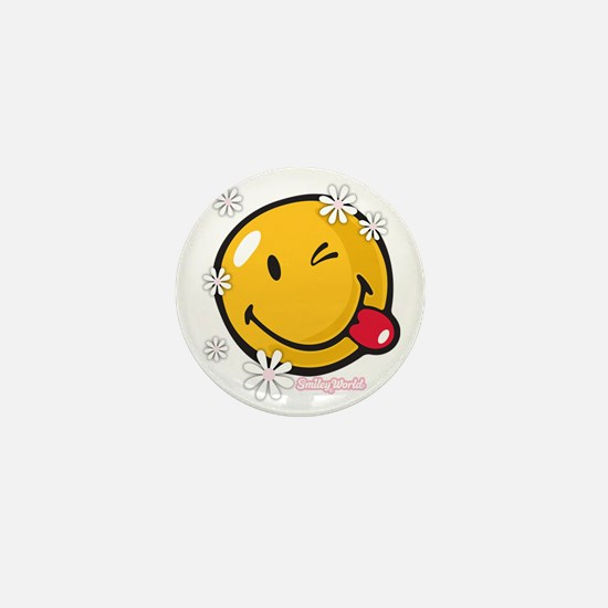 flower me Mini Button