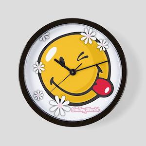 flower me Wall Clock