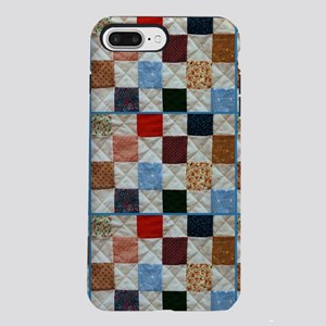 Colorful quilt pattern iPhone 7 Plus Tough Case