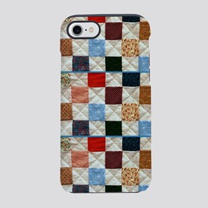 Colorful quilt pattern iPhone 7 Tough Case