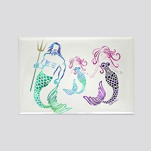 Mystical Mermaid Family Magnets