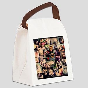 Calendar LoveFerrets Canvas Lunch Bag