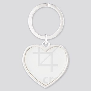 Oh Crop, Funny Designer Heart Keychain