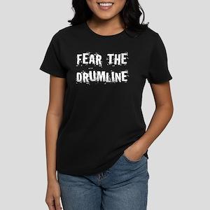 Fear The Drumline Women's Dark T-Shirt