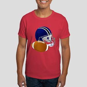 Football Helmet And Ball T-Shirt
