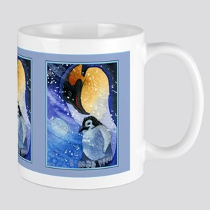 Snowy Penguins Mug