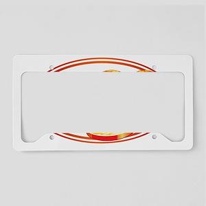 Flip Flops License Plate Holder