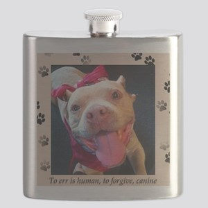 To err is human, to forgive, canine. Flask