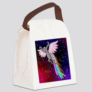 Believe in Your Dreams Sloth Canvas Lunch Bag