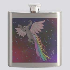 Believe in Your Dreams Sloth Flask
