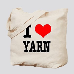 I Heart (Love) Yarn Tote Bag