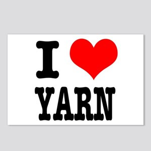 I Heart (Love) Yarn Postcards (Package of 8)