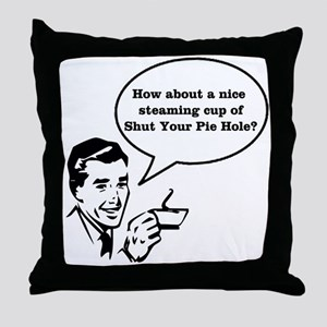 Cup of SYPH Throw Pillow