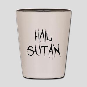 Hail Sutan Black Shot Glass