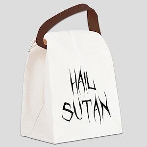 Hail Sutan Black Canvas Lunch Bag