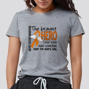 ac30674ac Bravest Hero I Knew Kidney Cancer T-Shirt