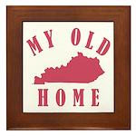 My Old Kentucky Home Framed Tile
