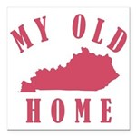 My Old Kentucky Home Square Car Magnet 3