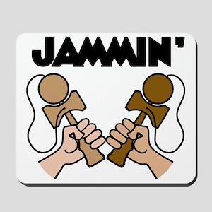 brown Jammin Mousepad