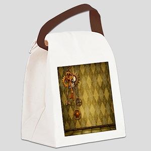 Steam Dreams: Keys Canvas Lunch Bag