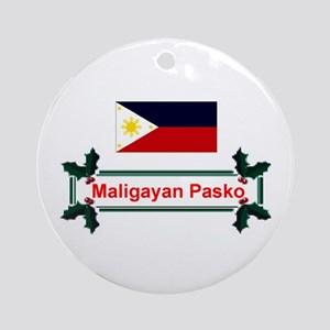 Filipino Maligayan.. Keepsake Ornament