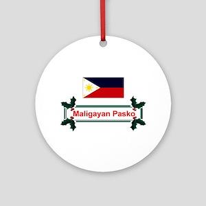 Filipino Maligayan.. Keepsake Ornament