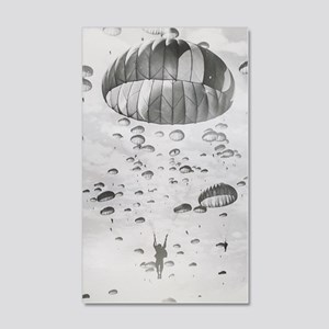 Vintage Paratrooper 20x12 Wall Decal