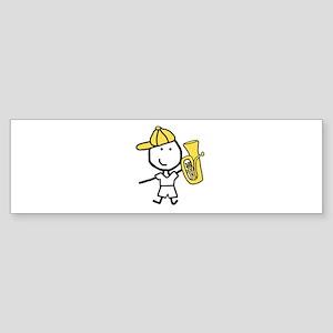 Boy & Baritone Bumper Sticker