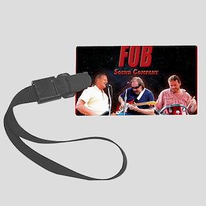 FOB Sound Company mini poster Large Luggage Tag