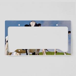 Family portrait License Plate Holder